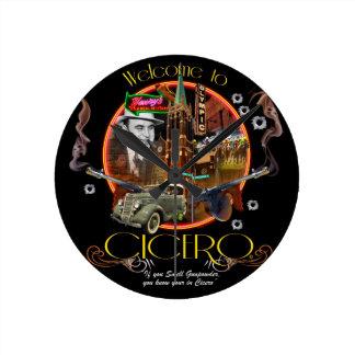 Cicero Rund Klocka