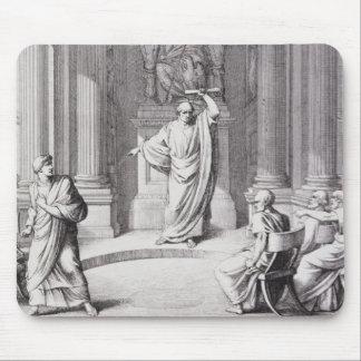 Cicero som skarpt kritisera Catiline Musmatta