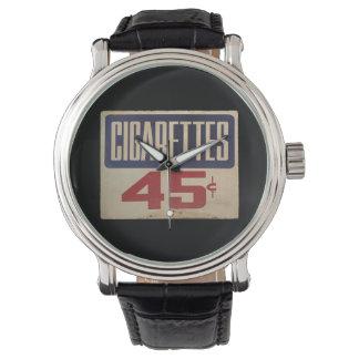 cigaretter 45¢ armbandsur