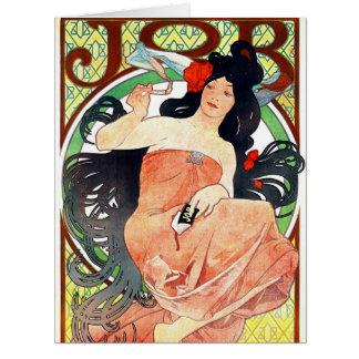 Cigarettpapperannons 1898 jumbo kort