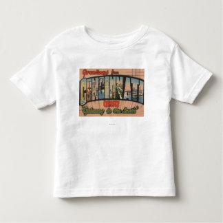 Cincinnati Ohio (nyckeln till söderna) Tee Shirts