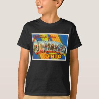 Cincinnati Ohio OH gammal vintage resorsouvenir Tshirts