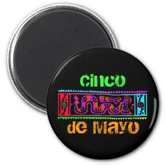 Cinco de Mayo Aztec orm Magnet