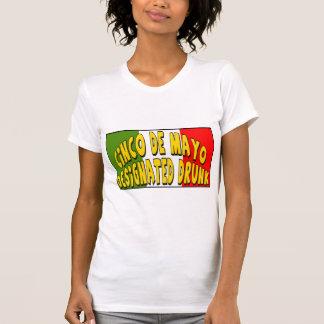 Cinco de Mayo designerade berusade T-tröja och T-shirts