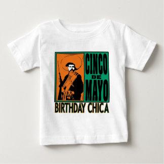 Cinco de Mayo födelsedag Chica T Shirt