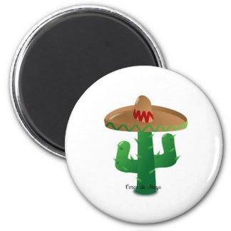 Cinco de Mayo kaktus Magnet