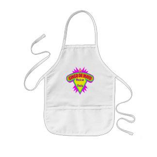 Cinco de Mayo mexicanska FiestaT-tröja och gåvor Barnförkläde
