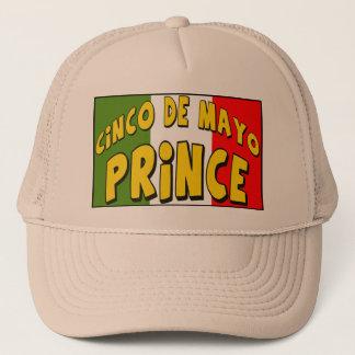Cinco de Mayo Prince T-tröja och gåvor Truckerkeps