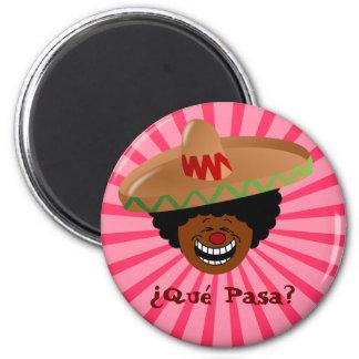 Cinco de Mayo - Que Pasa: Spanjor för skraj Fiesta Magnet