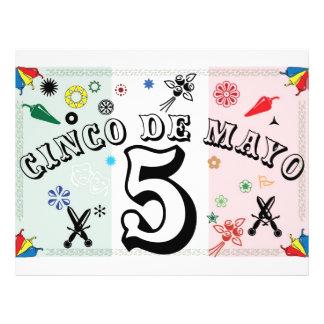 Cinco de Mayo reklamblad Reklamblad 21,5 X 30 Cm