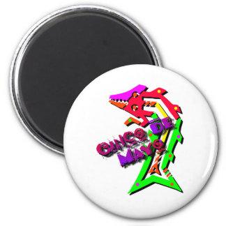 Cinco de Mayo Salamander Magnet