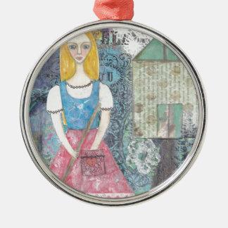Cinderella Julgransprydnad Metall