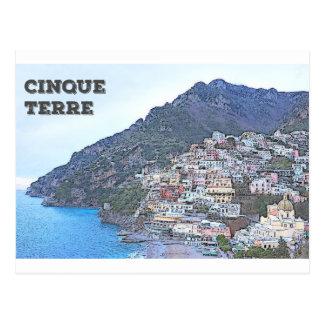 Cinque Terre, italien Vykort