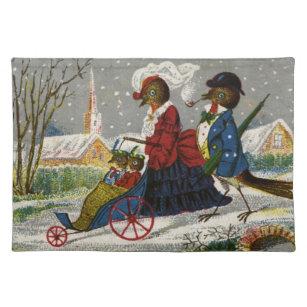Circa 1870: Den Robin familjen tar en promenad Bordstablett