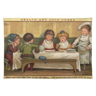 Circa 1880: Ett mål på jul Bordstablett