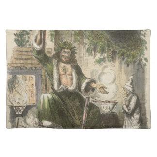 Circa 1900: Spöken av julklapp Bordstablett