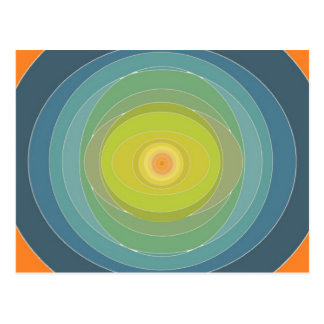 Cirkla designer vykort