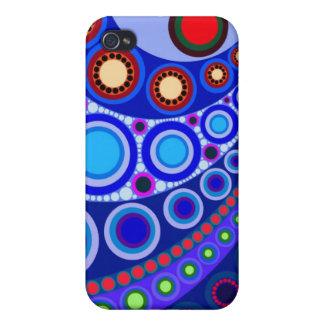 Cirkla fodral för iPhone 4 för motiv #147 iPhone 4 Cover