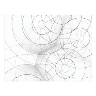 Cirkla klickdesignen vykort
