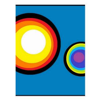 Cirkla världen vykort