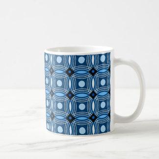 Cirklar cirklar på kaffemugg