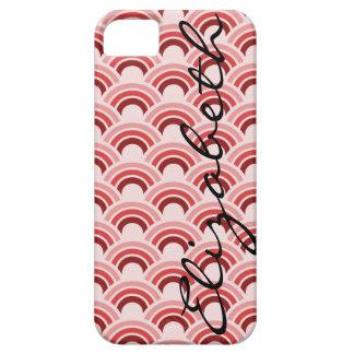 Cirklar cirklar Within fodral för mönsteriPhonen iPhone 5 Cover