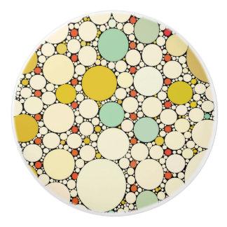 Cirklar kabinett knoppar för mönster