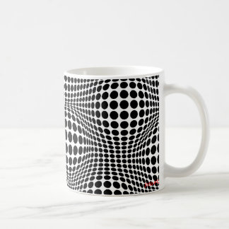 cirklar och backar 2 kaffemugg