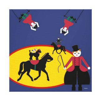 Cirque de Martzkins Ringa ledar- sträckt kanfas Canvastryck