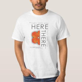 Citationstecken för scharlakansröd Pimpernel - T-shirts
