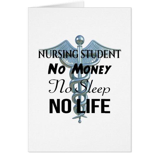 Citationstecken för sjuksköterska för hälsningskort