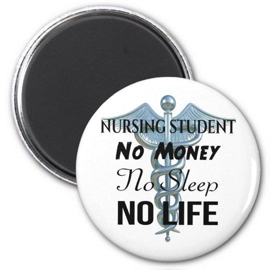 Citationstecken för sjuksköterska för magnet rund 5.7 cm