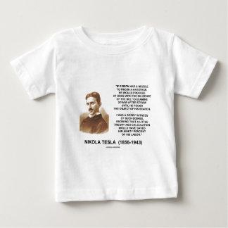 Citationstecken för teori för Nikola Tesla Edison T-shirt