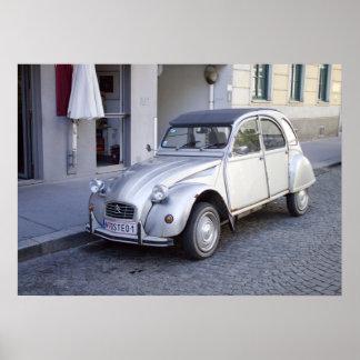 Citroën 2 CV Affischer
