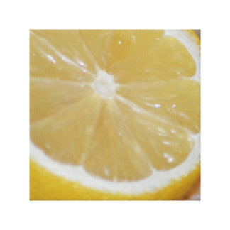 Citron Canvastryck