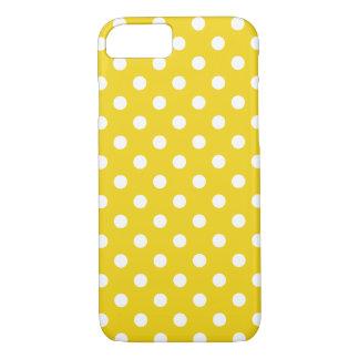 Citron - den gula polkaen pricker fodral för