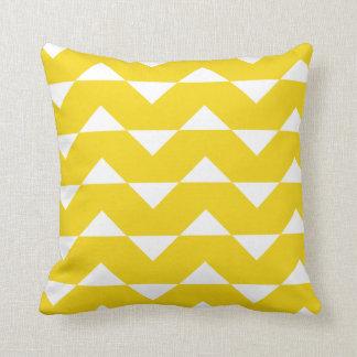 Citron - den gula Sparre mönsterbrytningen kudder Kudde