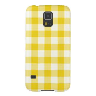 Citron - gult fodral för Ginghamgalax S5 Galaxy S5 Fodral