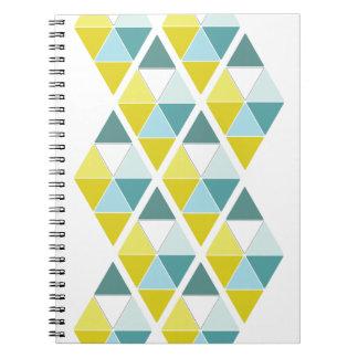Citron- och krickatrianglar anteckningsbok