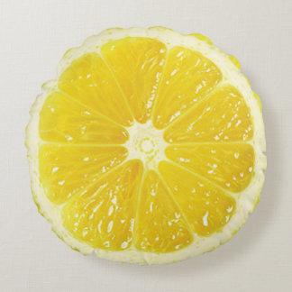 Citrondekorativ kudde