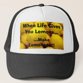 citronen, när liv ger dig citroner…,… gör L… Truckerkeps