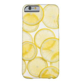 Citronen skivar ordnat i det backlit mönster barely there iPhone 6 skal