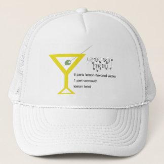 Citronen tappar den Martini hatten Keps