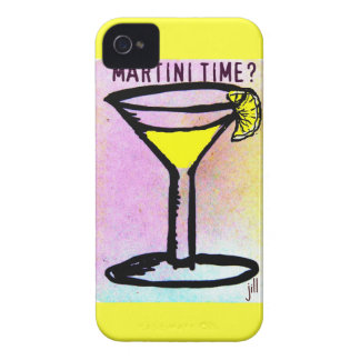 CITRONEN TAPPAR DET MARTINI TIME TRYCKET iPhone 4 Case-Mate FODRAL