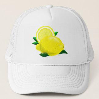 Citronen tappar truckerkeps