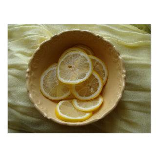 Citroner är härliga vykort