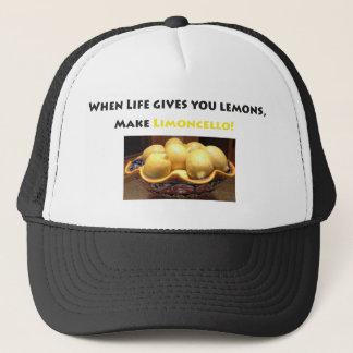 citroner citronälskare, limoncello, italienare, truckerkeps