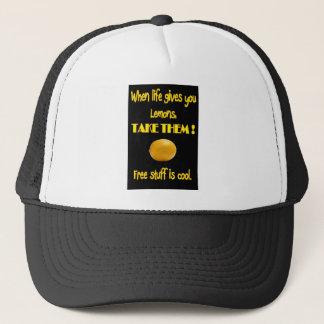 Citroner i skjorta och apparels för liv T Keps