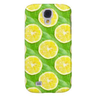 Citroner på löv galaxy s4 fodral