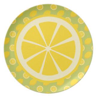 Citroner Tallrik